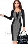 Vestido Tubinho Social com Cinto Coco Chanel 2