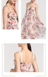 Vestido Princesa de Alcinha Estampa de Rosas Lolita