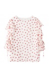 Blusa Poa Red Table Mist